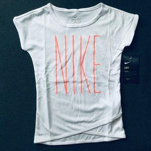 NIKE Dri-Fit Girl White Tee | 2-3 YRS NWT